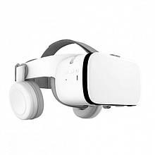 Окуляри 3D віртуальної реальності Bobo VR Z6 з пультом White - Стерео - та відео-окуляри