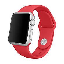 Ремінець для Apple Watch Silicone Band 42 mm Red - Аксесуари для розумних годин і фітнес браслетів
