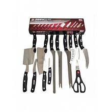 Набір кухонних ножів Miracle Blade World Series 11 шт + ножиці - Кухонні ножі та підставки