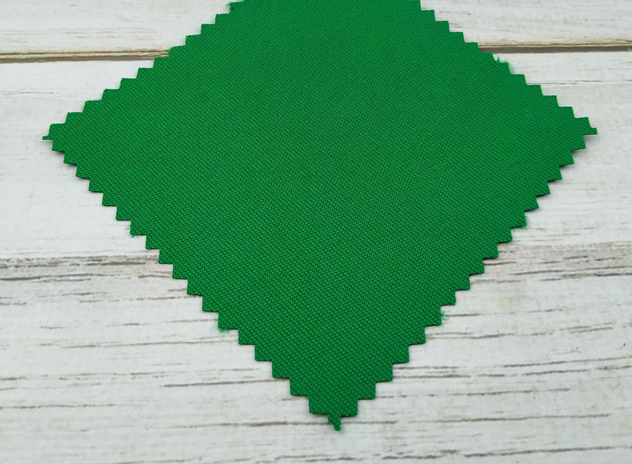 Ткань тентовая акриловая зеленая №108