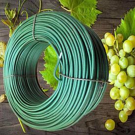 1.2/2.0 мм 500+100 м в подарок  Шпалерная польская проволока для винограда сроком службе до 50 лет