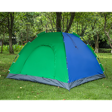 Палатка-автомат YBB с автоматическим каркасом 2-х местная Синяя