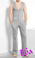 Пошив мужского жилета на подкладке, фото 1