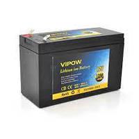 Аккумуляторная батарея литиевая Vipow 12V 12A с элементами Li-ion 18650  со встроенной ВМS платой, (3S6P)