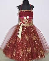 Детское нарядное платье «Камелия»