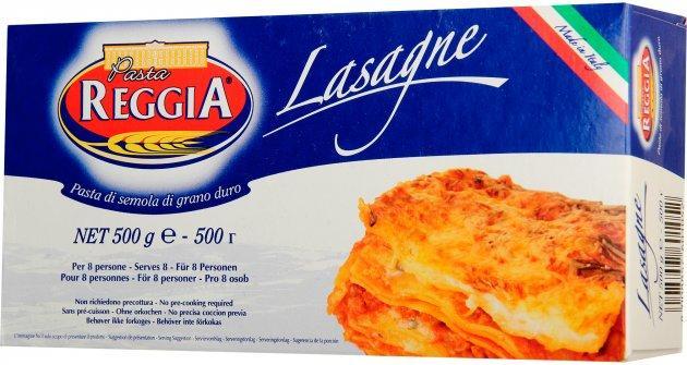 Лазанья листы для лазаньи Pasta Reggia 105 Lasagne 500 г Италия