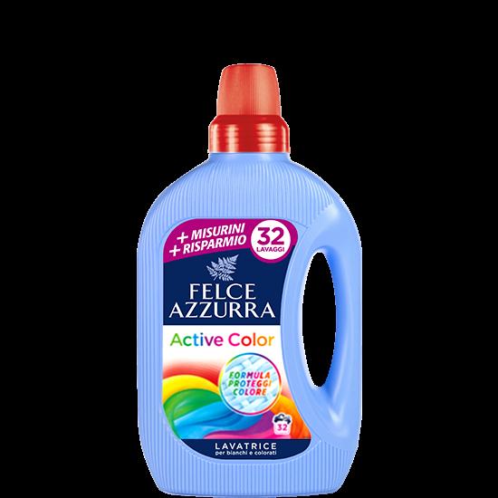 Гель для прання Felce Azzura Lavatrice Active Color для кольорового одягу 32 прання 1,5 л