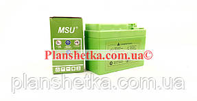 Акумулятор 12В 2,3 А Dio34 (табл) гелевий (115x49x86) MSU зелений, фото 2