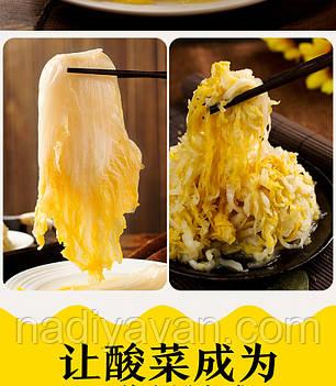 Капуста пекінська маринована 750г tm Cui Hua Suan Cai, фото 2