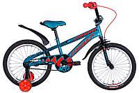 """Велосипед детский с боковыми колесами Formula Wild 18"""" бирюзовый"""