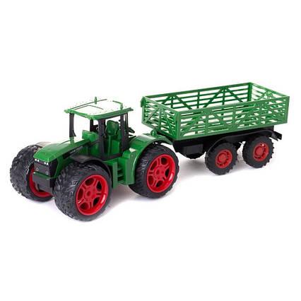 Инерционный трактор с прицепом 3368-72