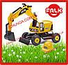 Дитячий трактор з причепом JCB FALK 115