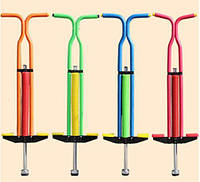 Детский джампер Пого Стик, Кузнечик, палка-прыгалка для прыжков для детей, разные варианты расцветки, до 50 кг