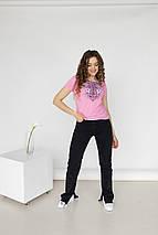 """Футболка жіноча з вишивкою """"Лілея"""", фото 3"""