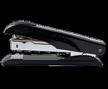 Степлер металлический МЕТАЛЛИК, 50 л., (скобы №23, 24), 167х36х57 мм, черный