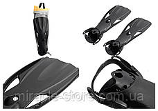 Ласти Intex 55635 41-45 розмір Чорний Інтекс, фото 3