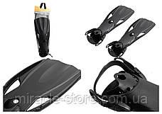 Ласты Intex 55635 41-45 размер Черный Интекс, фото 3