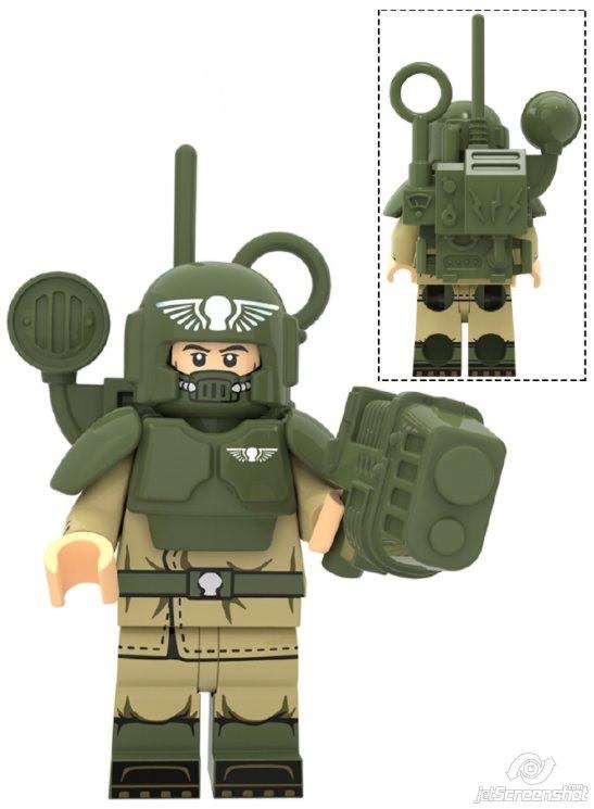Фигурка Астра Милитарум Astra Militarum Warhammer 40K Аналог лего