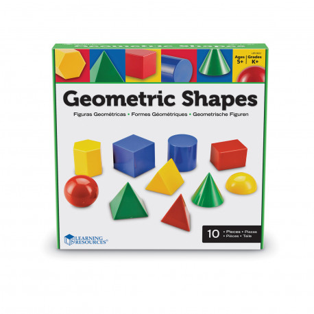 Набор геометрических фигур (10 шт) Learning Resources