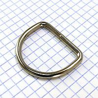 Полукольцо 30 мм никель для сумок a5612 (40 шт.)