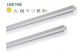 Светильник светодиодный линейный LED T5 0.6M 8W  Dilux, Накладной, Китай, Светодиодная лампа, Общего освещения, Теплый белый