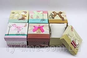 *Подарункова коробка під годинник (40802), 90*85*60 мм.