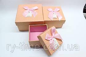 """*Подарункова коробка під годинник (40813), """"матрьошка"""" три в одному"""