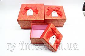 """*Подарункова коробка під годинник (40814), """"матрьошка"""" три в одному"""