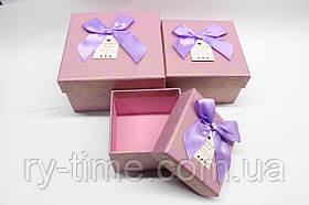 """*Подарункова коробка під годинник (40817), """"матрьошка"""" три в одному."""