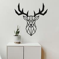 Объемная картина из дерева DecArt Deer Head
