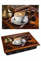 """Поднос на подушке """"Кофе под старину"""", фото 1"""