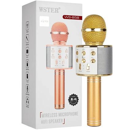 WS-858  Беспроводной караоке Микрофон