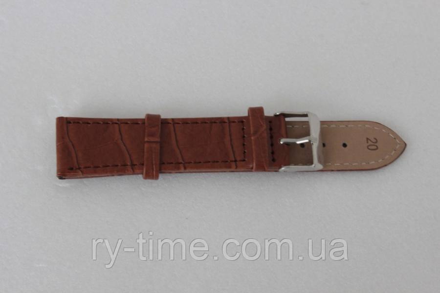 *Кожаный ремешок Toscana для часов 12 mm (28037)