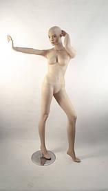 Манекенн жіночий танцюючий тілесний Q-27