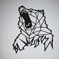 Объемная картина из дерева DecArt Bear