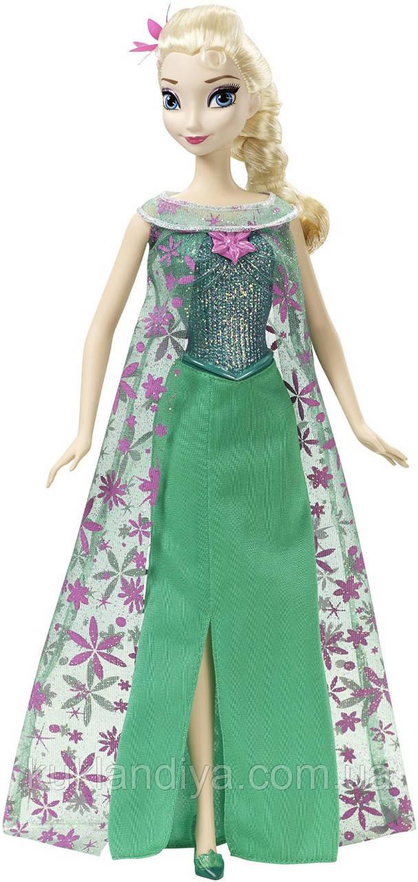 Поющая кукла ельза день рождения Disney Frozen Fever