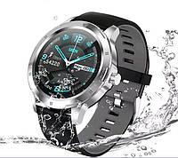Смарт часы CACGO K 15 серебро умные часы SmartWatch