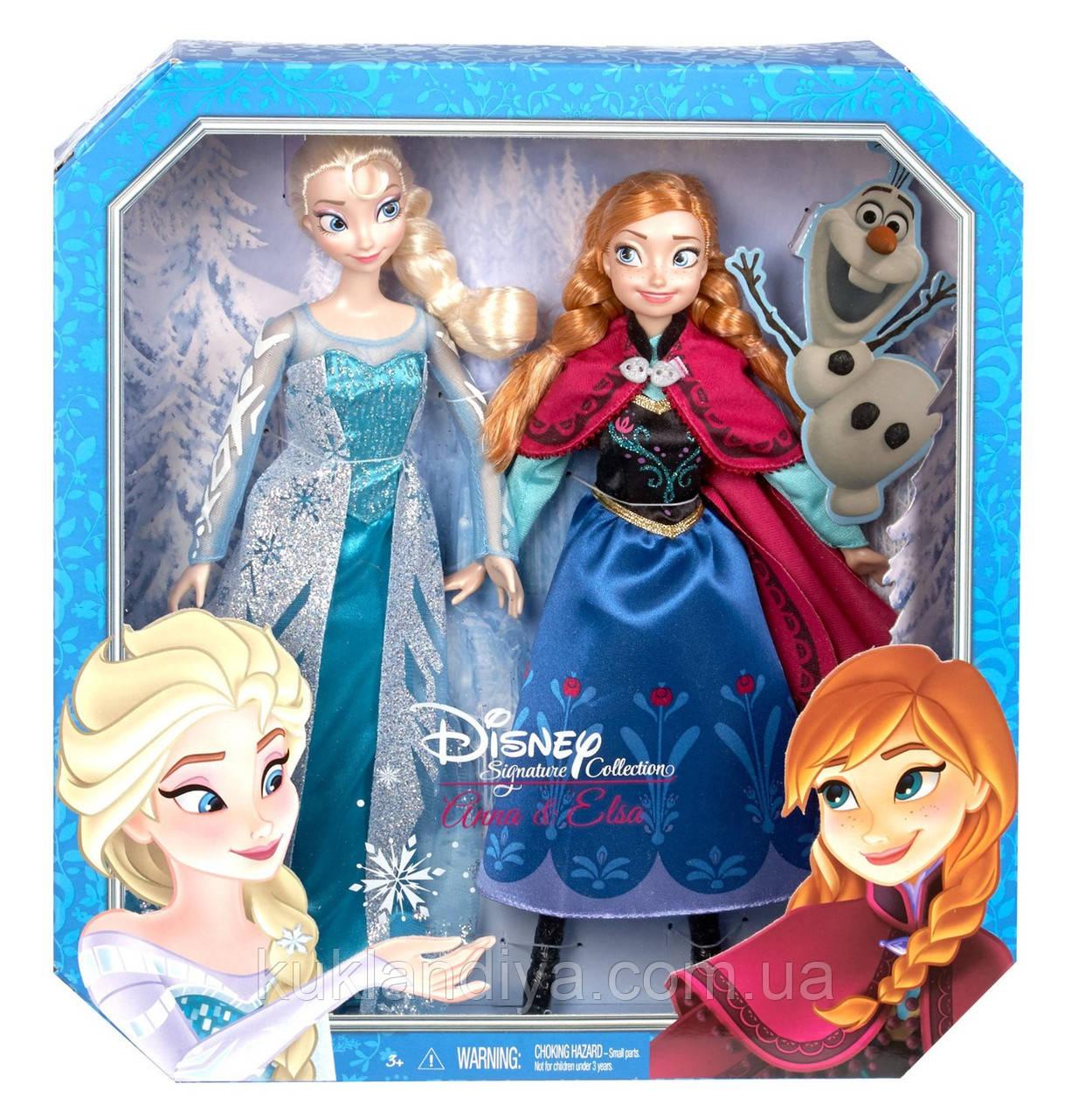 Куклы Эльза и Анна Коллекционный набор от Mattel