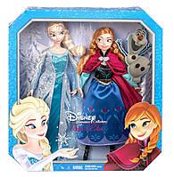 Куклы Эльза и Анна Коллекционный набор от Mattel, фото 1