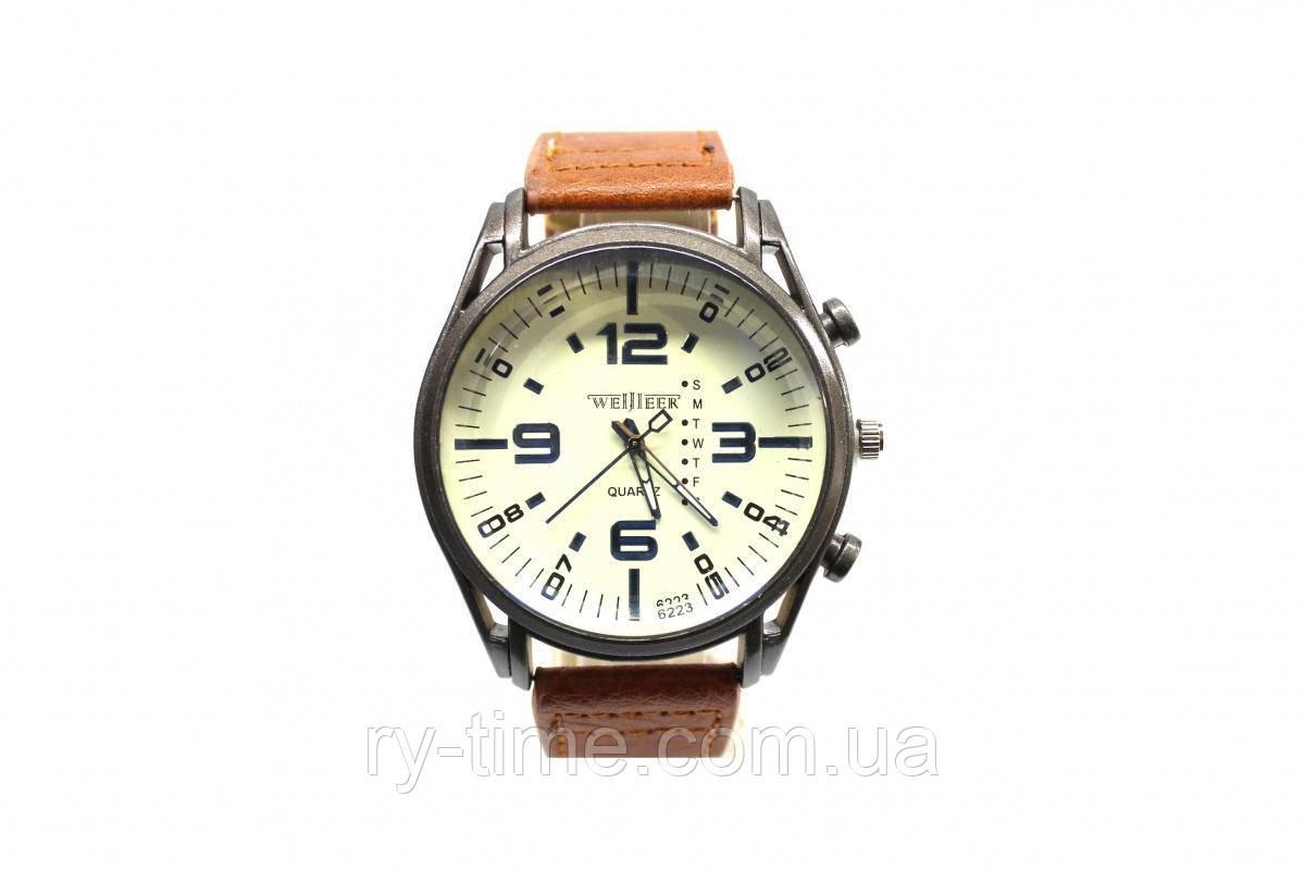 *Мужские часы на ремне (39660), точный ход.