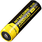 Аккумулятор литиевый Li-Ion 18650 Nitecore NL183 3.7V (2300mAh)