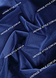 Ткань для штор Однотонный бархат электрик Т-11211, фото 2
