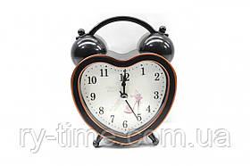 *Кварцевий будильник 277 (42680), 10,6*14*4 див.