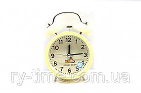 *Кварцевий будильник M-03 (42688), 13*9*4,5 див.