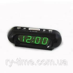 *Електронний будильник від мережі VST-716-2 (20333)