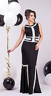 Вечернее платье в пол со вставками LS Джованна, фото 1