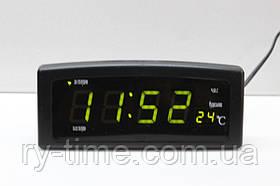 *Електронний будильник від мережі CX-818 (22066)