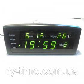 *Електронний будильник від мережі Caixing CX-868 (33153)