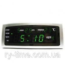 *Електронний будильник від мережі Caixing CX-868 (33154)