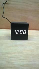 *Електронний будильник від мережі і батарейок VST-869-6 (33965)